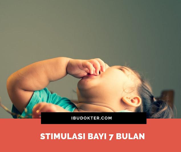 Stimulasi Bayi 7 Bulan