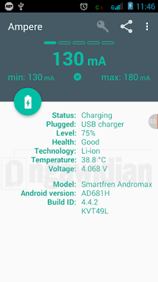 Cara Mengetahui Kecepatan/ Speed Charger Ponsel Android