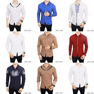 Kemeja Fashion Laki-laki