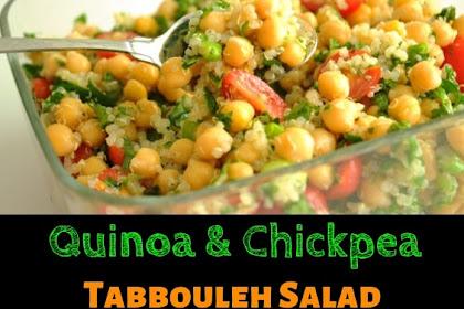 Quinoa & Chickpea Tabbouleh Salad