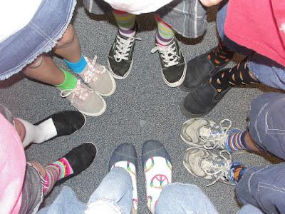Crazy Sock Day last week of school