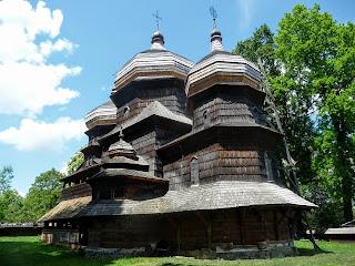 Дрогобыч. Львовская обл. Церковь св. Юра. 1656 г. Всемирное наследие ЮНЕСКО