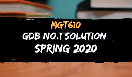 MGT610