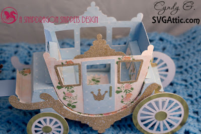 3d paper carriage