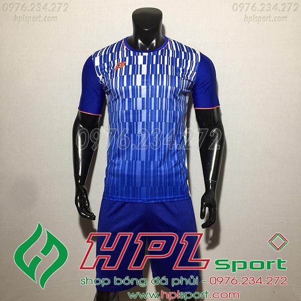 Áo ko logo ZB HML màu xanh dương
