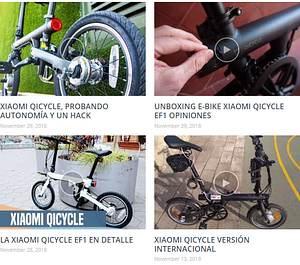 bicicletas electricas en imagenes