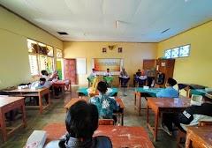 Pelantikan Perangkat Desa Gerlang, Kapolsek Blado Ingatkan Warga Utamakan Protokol kesehatan