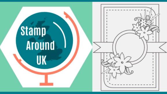 Stamp Around UK October Video Hop: Card Sketch