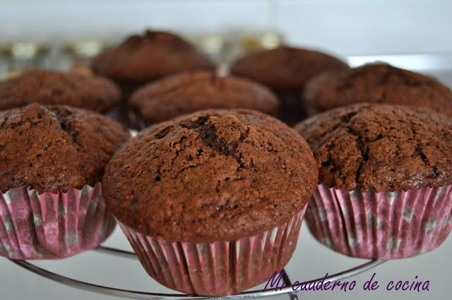 Muffins de chocolate de Nigella Lawson