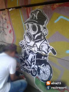 Stomp grafitero
