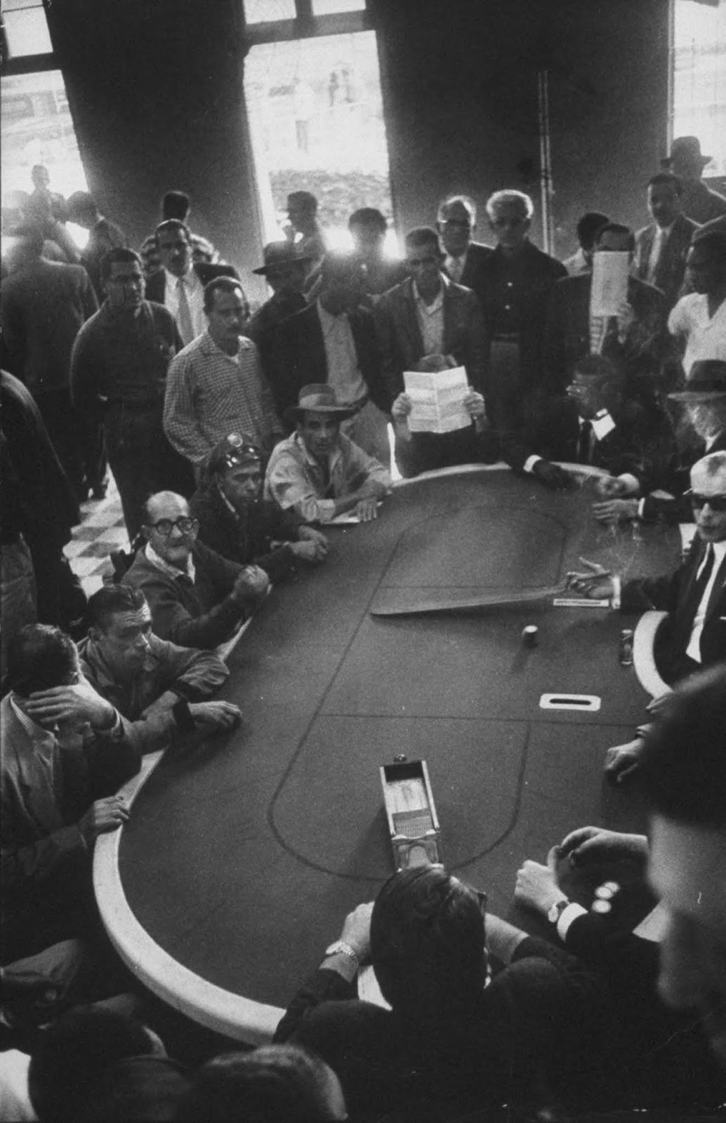 Casino players. 1958.