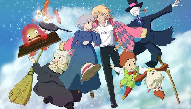 Película de animación de Studio Ghibli El Castillo Ambulante
