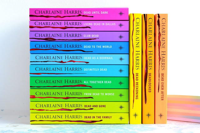 Thirteen books of the The Southern Vampire Mysteries/ True Blood/ Sookie Stackhouse series by Charlaine Harris!