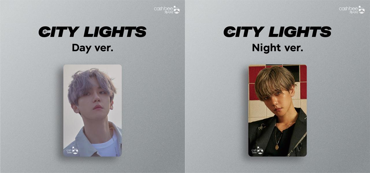 Valoa Records Baekhyun City Lights Cashbee Card