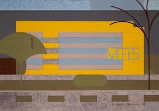 """Yellow Vision 4"" by Michael Garaway"