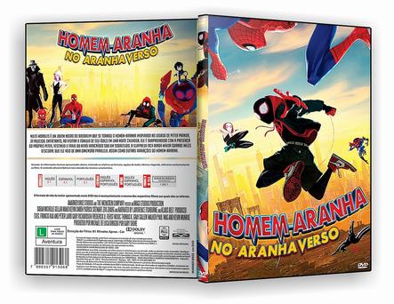 CAPA DVD – Homem Aranha no Aranha Verso – ISO