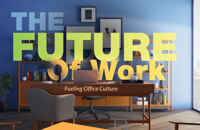The Future Of Work: Fueling Office Culture #infographic
