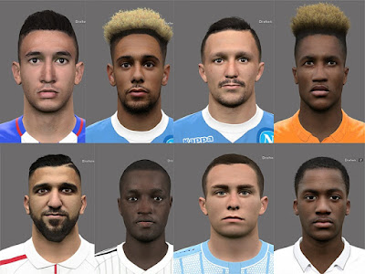 PES 2017 Facepack June 2019 by Rednik