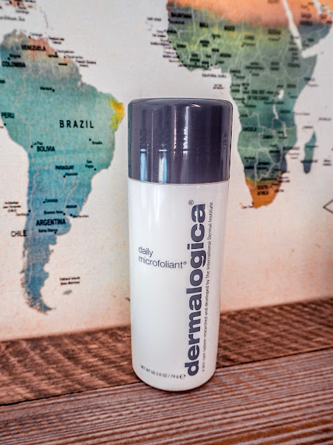 How Dermalogica saved my bad skin after travelling - exfoliant
