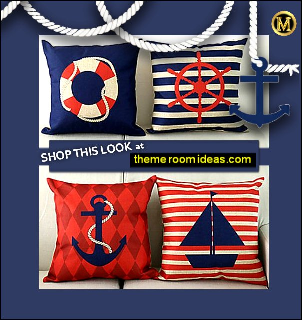 nautical throw pillows nautical bedroom decor nautical home decorating