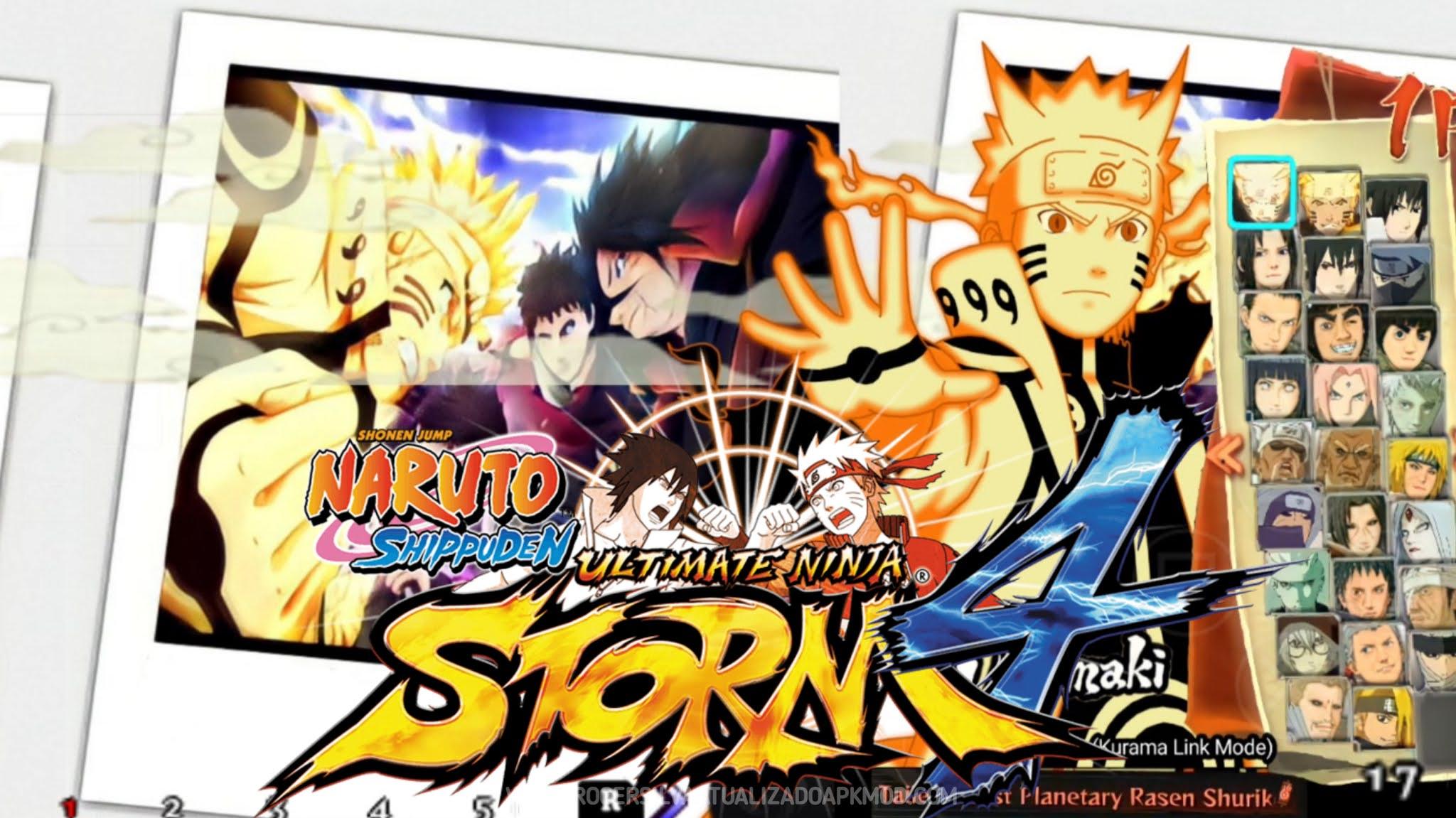 Naruto Shippuden: Ultimate Ninja Impact Storm 4 ppsspp