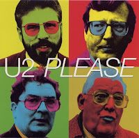 u2 Please single cover of Gerry Adams