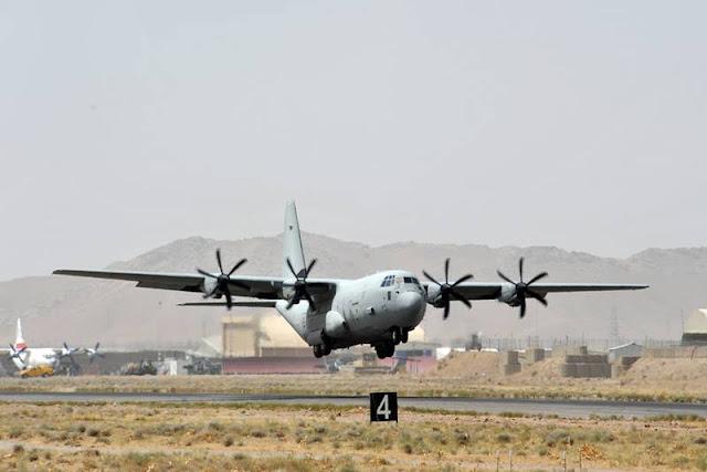 Italian C130 gunfire Kabul Afghanistan