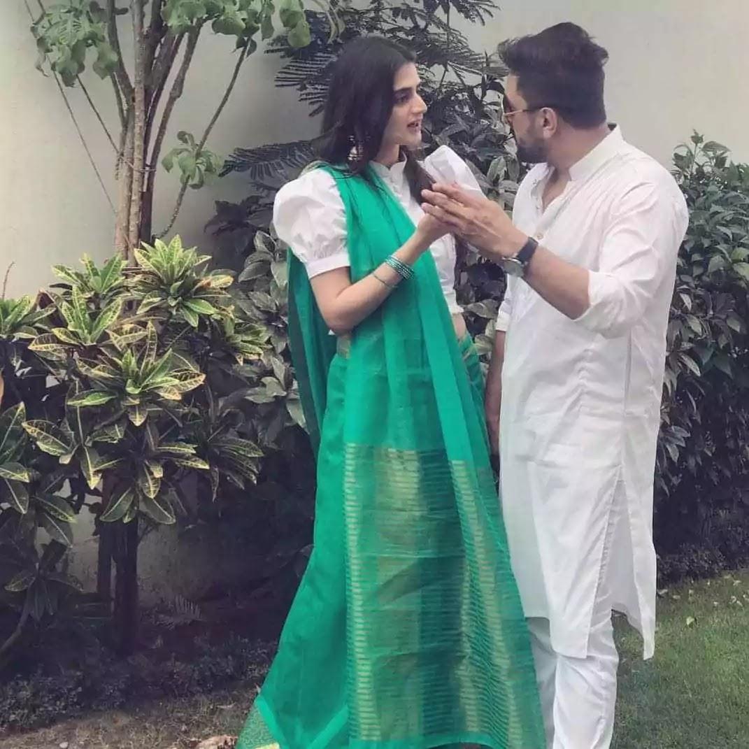 Hira Mani And Salman Sheikh Shares Cute Photos On Independence Day