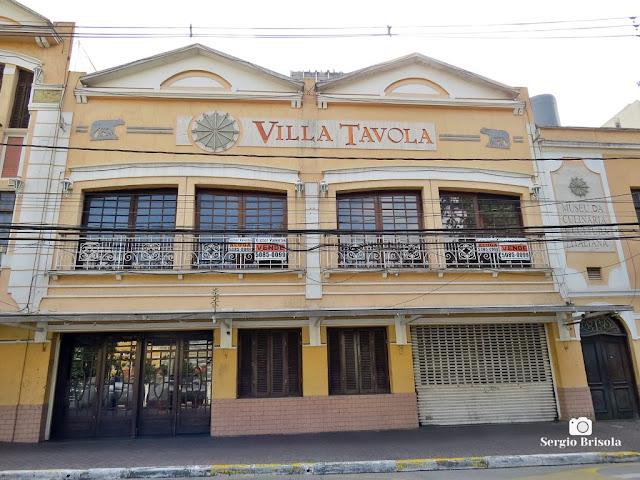 Vista ampla do Antigo Restaurante Villa Tavola - Bixiga / Bela Vista - São Paulo