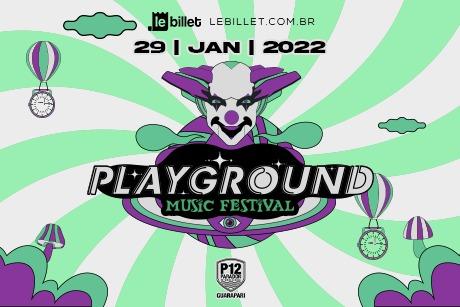 Playground Music Festival no P12 Guarapari em Janeiro