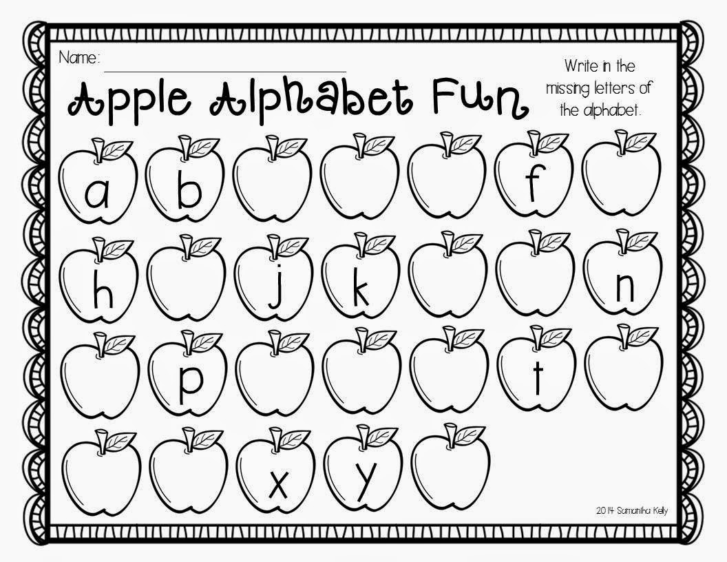 Mrs. Kelly's Klass: APPLE Math, Literacy, and FUN! {freebie}