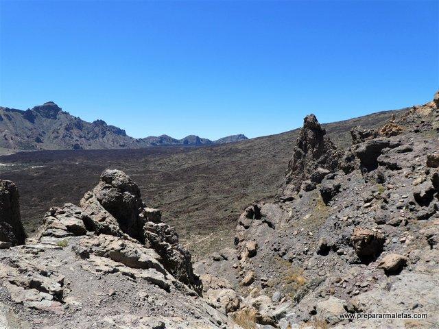 erupciones del volcán Teide Islas Canarias