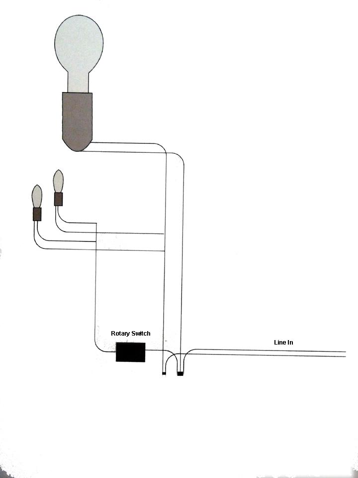 wiring rotary lamp switch