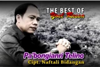 Lirik Lagu Toraja Pa'bongianri Telino