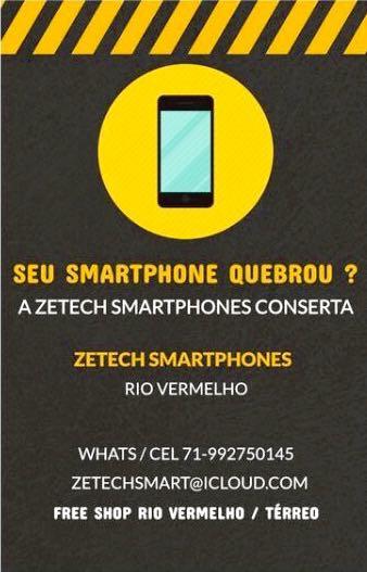 Conserte seu Smartphone na Zetech no Free Shop