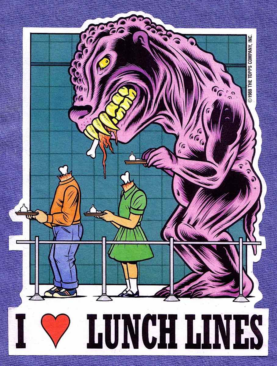I love lunch lines by Charles Burns
