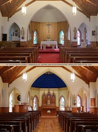 Before and After: St. Leo the Great (Diocese of Birmingham, USA)
