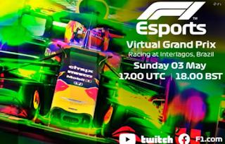 Gran Premio Carrera Virtual F1 Brasil 3-5-2020