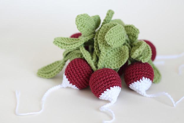 Vegetables Free Crochet Pattern ⋆ Crochet Kingdom | 416x624