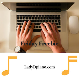 Friday Freebie: Old Rugged Cross l LadyDpiano.com