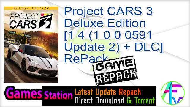 Project CARS 3 – Deluxe Edition [1 4 (1 0 0 0591 Update 2) + DLC] RePack