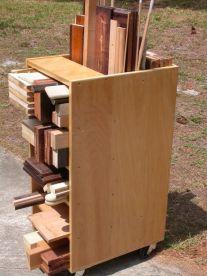 20 Scrap Wood Storage Holders You Can DIY - Remodelando la