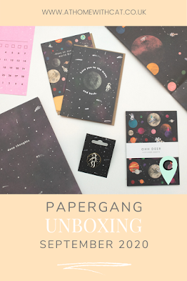 Pinterest Graphic - Papergang Box September 2020