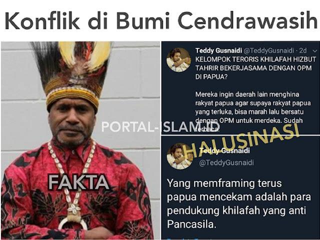 Patahkan Fitnah Pendukung Jokowi, Polisi Beberkan Sepak Terjang Benny Wenda 'Biang Kerok' Kerusuhan di Papua