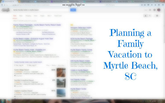 family vacation, beach vacation planning, Myrtle Beach SC,