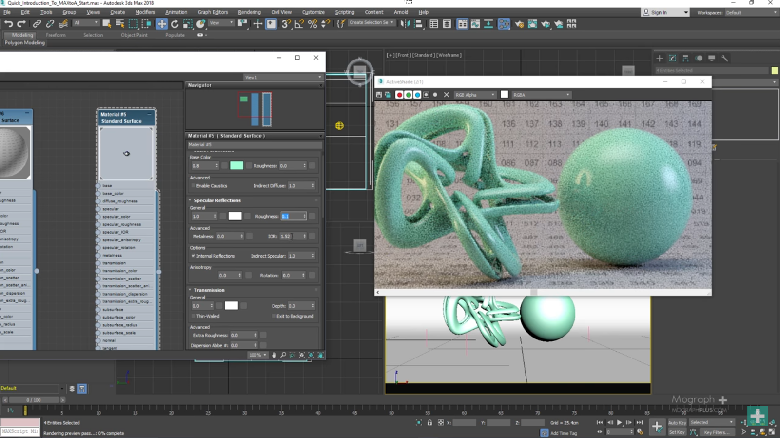 An introduction to arnold 5 for 3ds max 2018 cg tutorial for 3ds max design