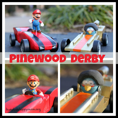 Pinewood Derby Car Ideas Angry Birds and Super Mario - Busy Kids