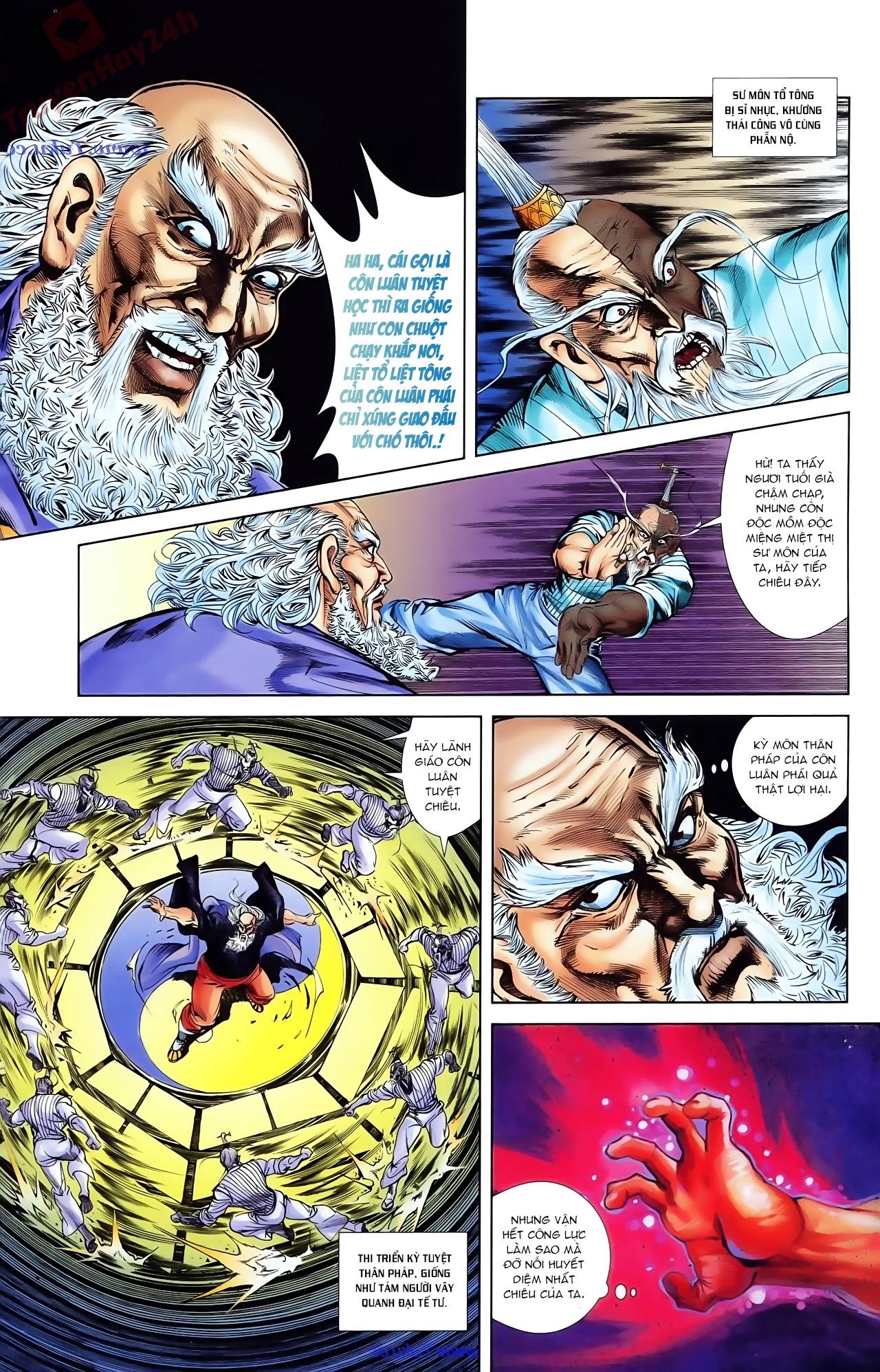 Cơ Phát Khai Chu Bản chapter 81 trang 18