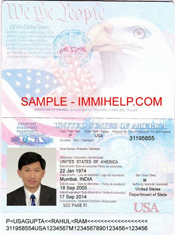 Passport Travel Document Number Vs Passport Book Number
