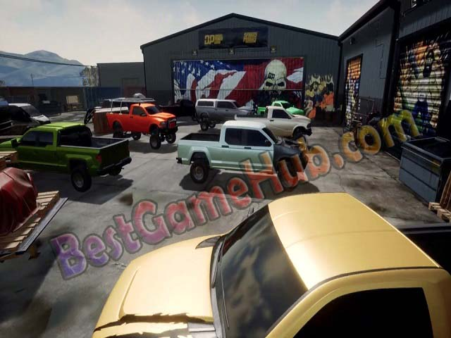 Diesel Brothers Truck Building Simulator Torrent Game Free Download